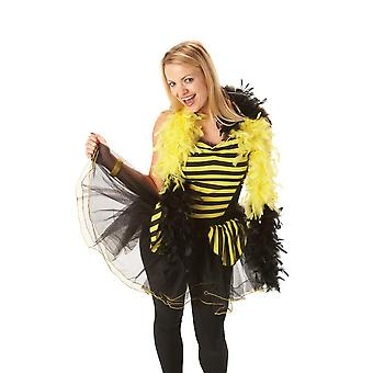 Bristol Novelty Womens / Ladies Bee Kostuum Baskische stijl Top