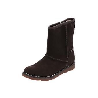 Superfit EMMA Kids Girls Boots Brown Lace-Up Boots Winter