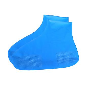 Portable low tube latex shoe cover