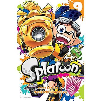 Splatoon - Vol. 9 by Sankichi Hinodeya - 9781974713349 Book