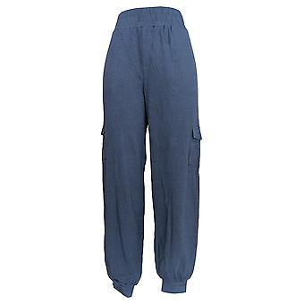 N'importe qui Femmes-apos;s Pantalons Grand Cozy Knit Cargo Jogger Navy Blue A310169