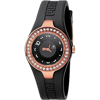 PUMA Dynamic Posh PU101122004 quartz wrist watch, analog, female, metal, silver
