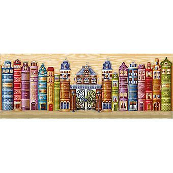 Andriana Cross Stitch Kit - Kingdom of Books