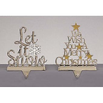 Christmas Shop Let It Snow Stocking Holder