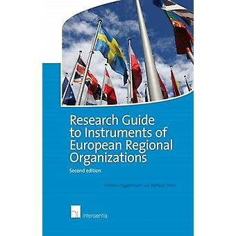 Research Guide to Instruments of European Regional Organizations - 201