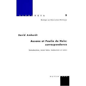 Ausone Et Paulin de Nole - Correspondance - Introduction - Texte Latin