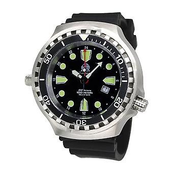 Tauchmeister T0275 Ronda GMT XXL diving watch 1000m