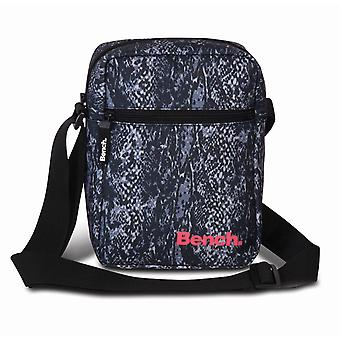 Bench Classic taška přes rameno 23 cm, černá/had