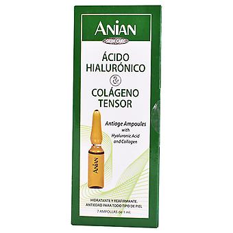 Anian Acido Hialuronico & Colageno 7 Ampollas x 1 ml