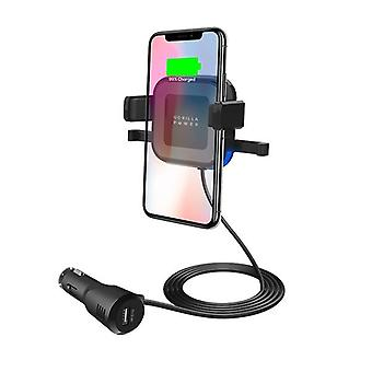 Mbeat Gorilla Power 10W Wireless Car Charger With 2A Usb Charging