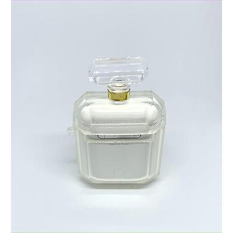 AirPods Case Transparent Perfume Bottle Gold!