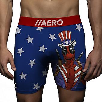 Deadpool Americana Boxer Briefs