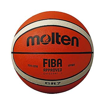 Molten GR7 Indoor Outdoor Rubber Basketball Ball Orange