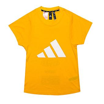 Girl's adidas Infant The Pack T-Shirt in Gold