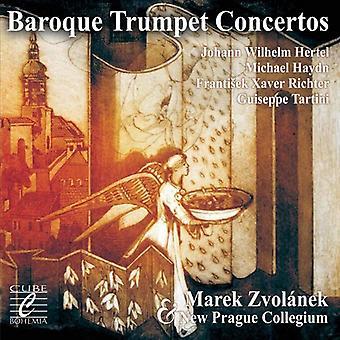 Hertel / New Prague Collegium - Baroque Trumpet Concertos [CD] USA import