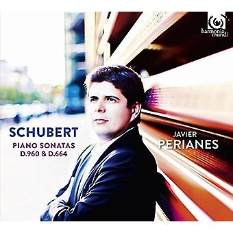 Schubert / Perianes, Javier - Piano Sonatas D960 & D664 [CD] USA import