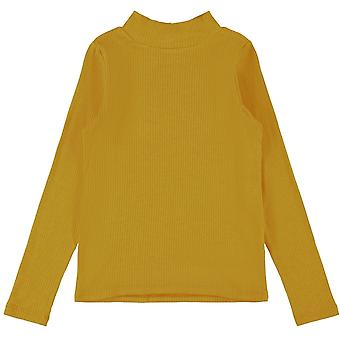 Name-it Girls Tshirt Dalima Spicy Mustard