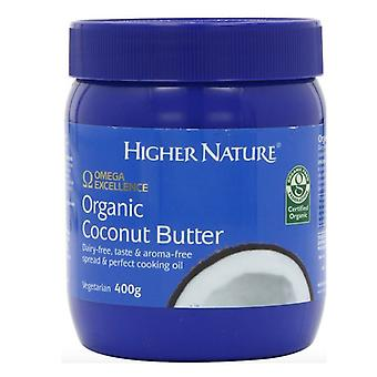 Higher Nature Organic Coconut Butter 400g (OECO400)
