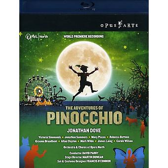 J. Dove - Adventures of Pinocchio [BLU-RAY] USA import