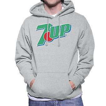 7up Retro 90s Logo Men's Hooded Sweatshirt