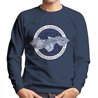 Alien Covenant Ship Logo Men's Sudadera
