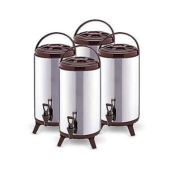 Soga 4x 16L Portátil Cold Heat Coffee Coffee Barrel Brew Pot Dispenser
