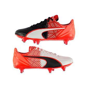 Puma evoSpeed 3.5 Leather SG Football Boots Mens