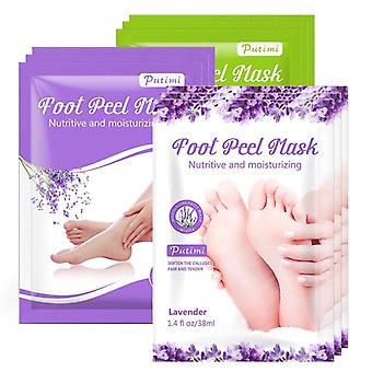 Exfoliating Foot Spa Bath Mask Peeling Scrub Pedicure Foot Patch Hydratant