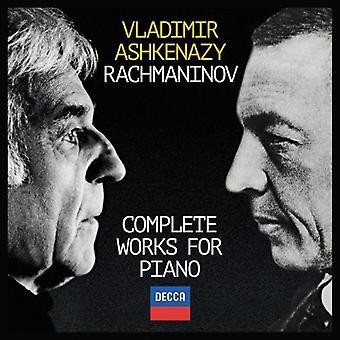 Rachmaninov/Asjkenazi, Vladimir - Rachmaninov/Ashkenazy, Vladimir: Complete Works for Piano [CD] USA importeren