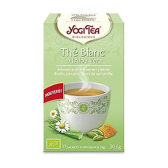 White tea with aloe vera 17 infusion bags