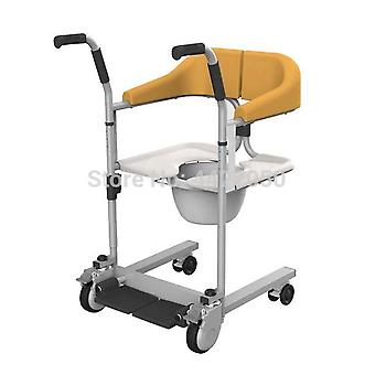 Elderly Commode And Bath Chair - Multifunction Lifting Mobile Machine Manual Mobile Wheelchair