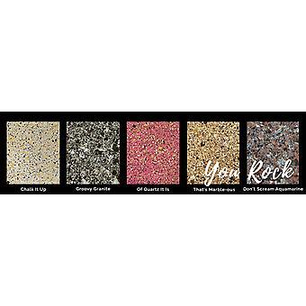 Lindy&Apos's Stamp Gang You Rock! Prägling Pulver Set