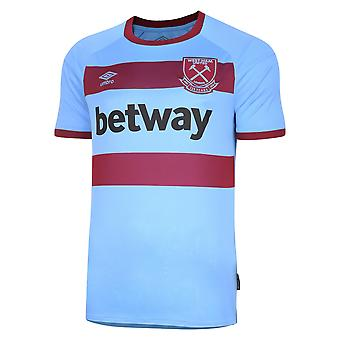 Camisa do Umbro West Ham United Away | Azul | 2020/21 | Adulto