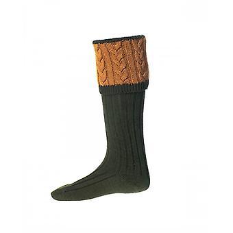 House of Cheviot Country Socks Sandringham ~ Spruce