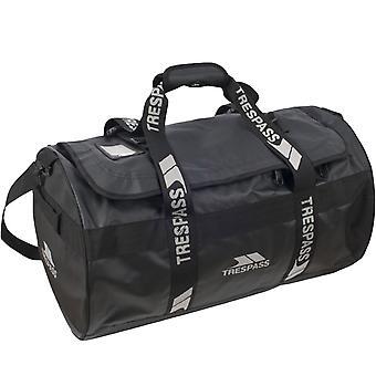 Trespass Unisex Blackfriar Adjustable Strap Luggage Holdall Duffle Bag - Black