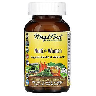 MegaFood, Multi voor Vrouwen, 120 tabletten