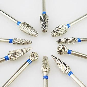 10pcs/box Tungsten Steel Dental Carbide  Lab Burrs Tooth Drill - Dental Lab Material
