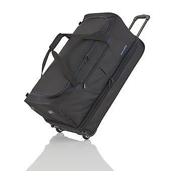 travelite Basics Trolley Travel Bag 70 cm 2 pyörää laajennettavissa, musta
