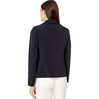 العلامة التجارية - Lark & Ro Women's Classic One Button Blazer, Navy الأطلسي, 8