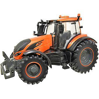 Británie Kovové Orange Valtra T245 Traktor