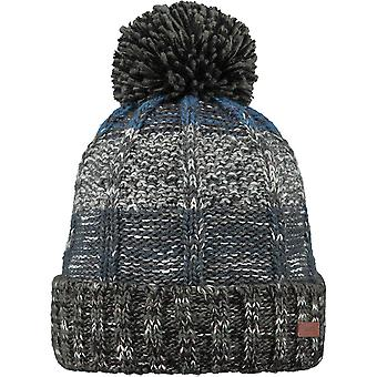 Barts Vista Bobble Hatt i Heather Grå