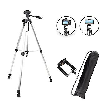 Protable Camera Tripod For Phone Canon Nikon Sony Dslr Camera Camcorder 50-140 Cm Universal Adjustable Tripod Stand