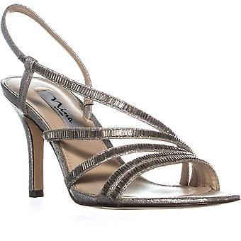 Nina Womens Amani Open Toe Special Occasion Slingback Sandales