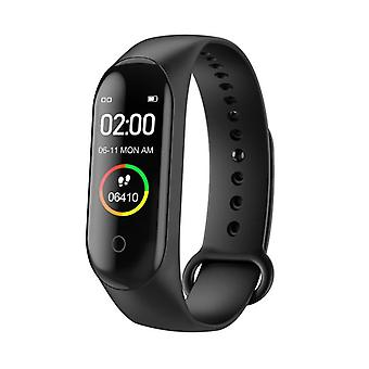 M4 Smart Bracelet-band Bluetooth Sport-watch Smart-band Color-screen Waterproof Heart-rate Fitness Pedometers-tracker