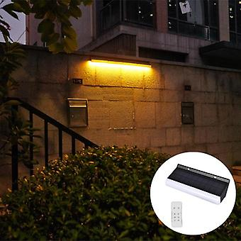 Wall Washer Led -lights Solar Powred With Remote Control