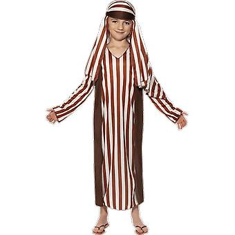 Kids Age 4 - 12 Years Shephard Costume Nativity Play Fancy Dress