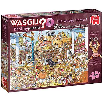 Wasgij Retro 1000 Piece Destiny 4 Wasgij Games!