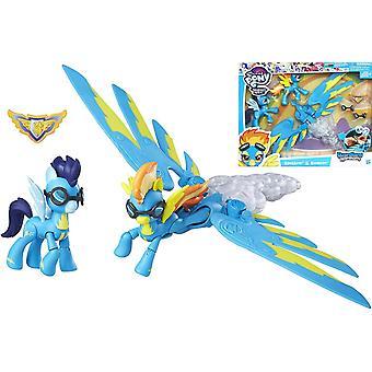 2-Pack My Little Pony Spitfire et Soarin Figure Doll Doll