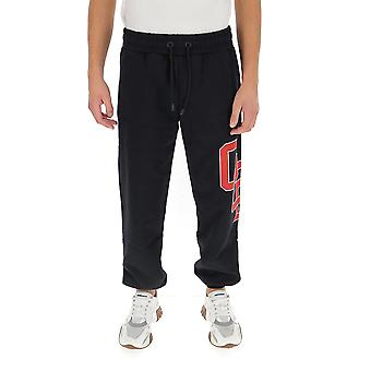 Gcds Fw21m030036 Men's Black Cotton Joggers