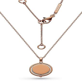 "Kit Heath Empire väckelse runda spinner Rose Gold Plate 17 ""halsband 90385rg029"